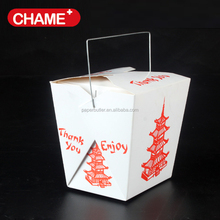 Glossy food grade cardboard noodle box noodle food packaging
