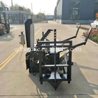 Skidsteer attachment forestry machinery log cutter splitter wood processor
