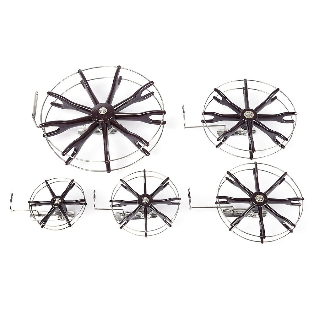 Free Shipping Stainless Steel Wire Cage Hand Gear Eight Trigram Fishing Reel Wheel Fish Anchor Accessory