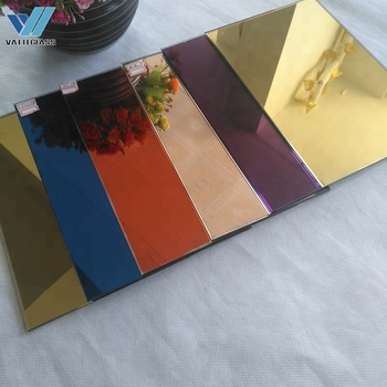 Wholesale colored mirror glass|stained mirrors
