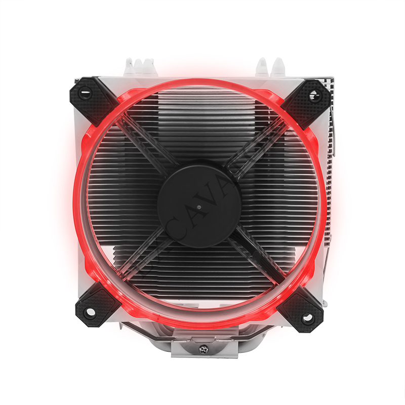 4 PinDesktop Computer PC Aluminum CPU Heatsink unique Cooler Fan for LGA 775 or LGA1155/1156/1150