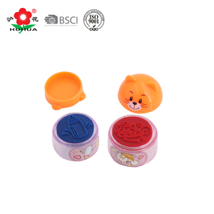 colorful children toy stamp self-inking stamp toy cartoon stamp