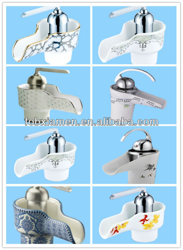 Blue And White Porcelain Basin Faucet