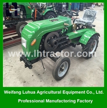 Tractor machineries 15HP multifunction mini tractor China