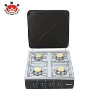 Stainless Steel 4 burner royal gas cooker