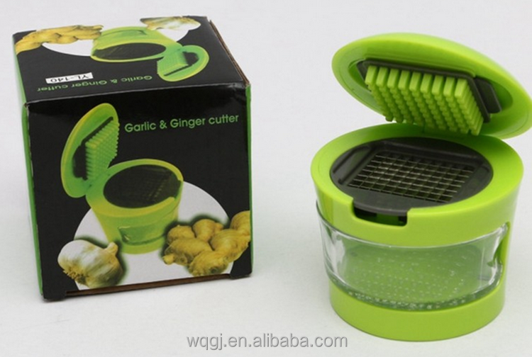 Kitchen Plastic Garlic And Ginger Cutter Mini Garlic Press Garlic ...