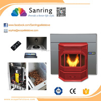 13KW cheap wood pellet burning wood pellet stoves for sale