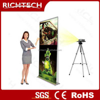 60x200cm, 80x200cm,100x200cm,Roll up projection banner
