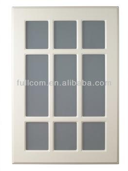 Stile Greco Elegante Bianco Mobili Da Cucina Porte In Vetro - Buy ...