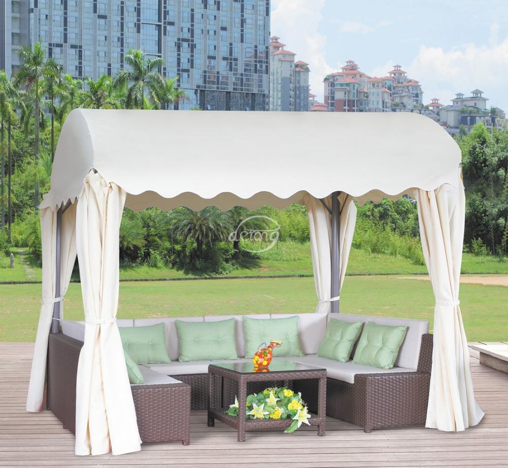 Garden Furniture Gazebo resort outdoor furniture popular polywood hexagon gazebo with