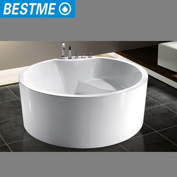 bathroom sanitary ware round bathtub with cheap price - buy
