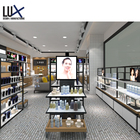 Delicate Cosmetic Shop Design Sign Board Stylish Cosmetic Shop Display Stand