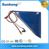 Customized Triangle frame rechargeable lithium battery 48v 10ah bike battery 48v with 18650 samsung cells