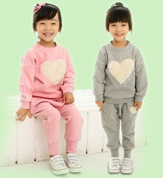 China Online Shopping Wholesale Child Girl Clothes Set
