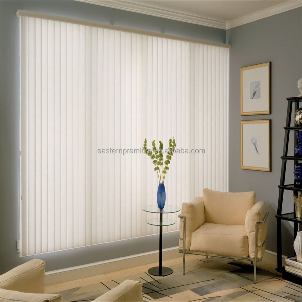 Standard vertical blinds and fabric with beautiful design