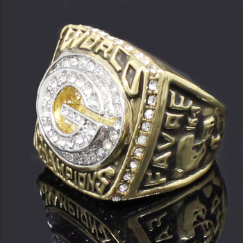 Gold Filled Arab Men Championship Ring Fancy Pakistan Name Design