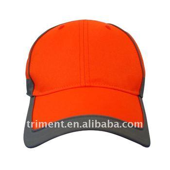 b320738e7d4 Fluorescent Stripped Neon Baseball Reflective Safe Cap - Buy Striped ...