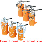 Manual Grease Pump Portable Bucket Lubricator / Lever Action Oil Transfer Pump Dispenser