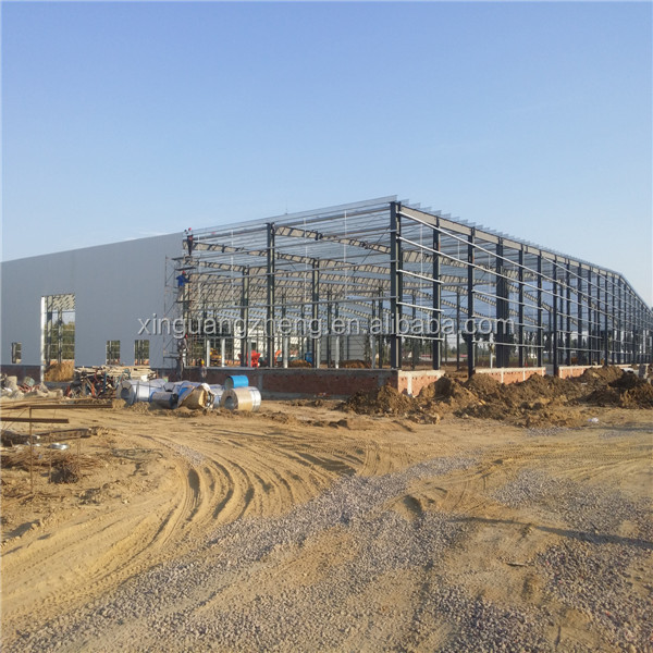 High quality prefab steel structure warehouse shed