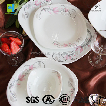 Most popular 38pcs square opal dinnerware sets & Most popular 38pcs square opal dinnerware sets View opal dinnerware ...