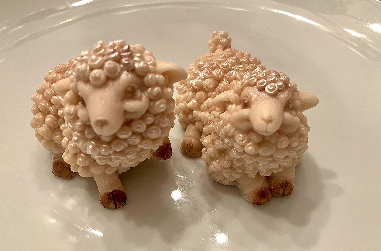 Sheep Goat's Milk Handmade Guest Soap. Farmhouse decor. Cottage. Bath and Beaty. Christmas Gift. Teacher. Wedding. Coworker. Sister. Grandmother. Wife.