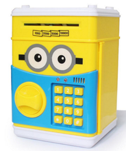 Mini atm coin bank, adorable atm saving bank money box,OEM design atm piggy bank