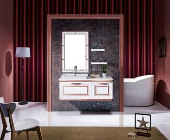 Traditionele fretwork decoratie etnische fusion ontwerp licht kleur badkamer meubels buy - Decoratie toilet ontwerp ...