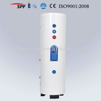 200l Ce Approved Double Coil Stainless Steel Unvented Hot Water ...