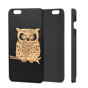 2019 Trendinig New Products Mobile Phone Case For iPhone 6 Plus Hard Black PC Engraved Cell Phone Cover