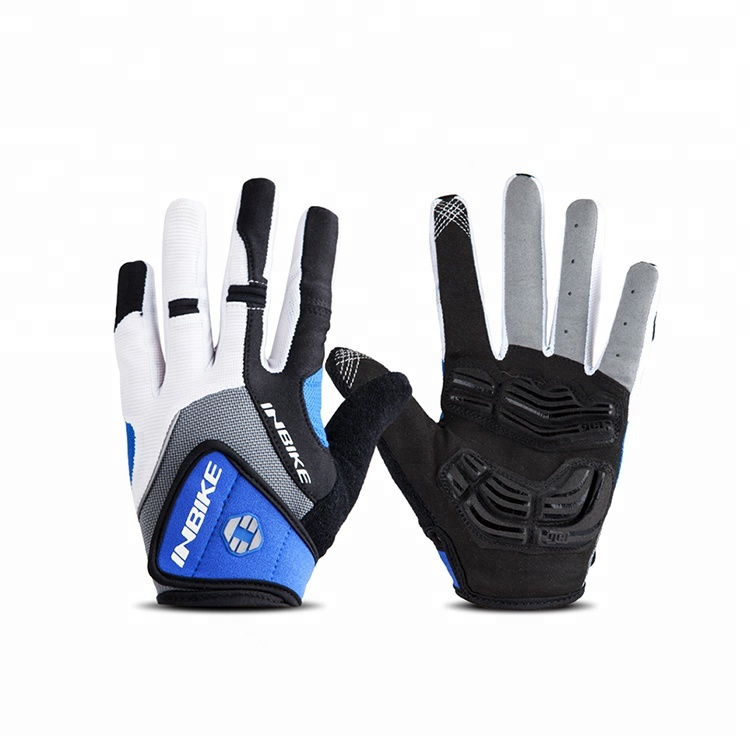 INBIKE Custom Motor Bike Handschoen Bicycle Sport Racing Full Finger fietshandschoenen