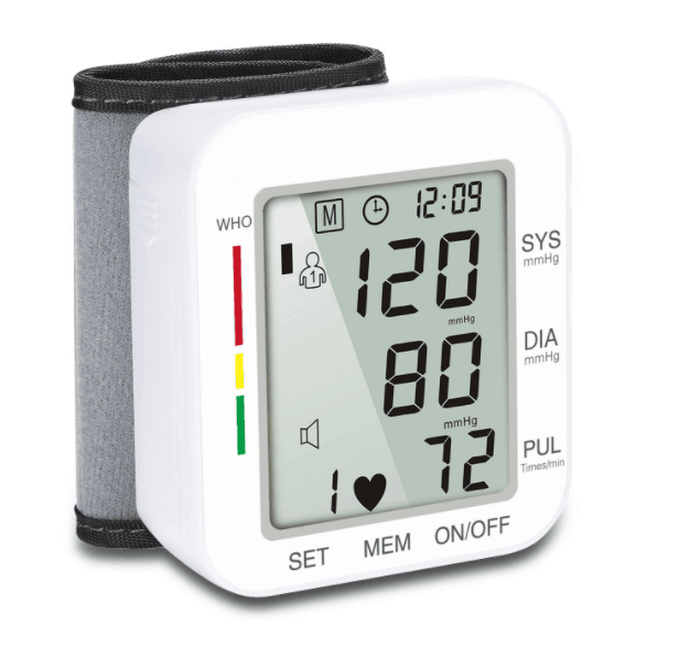 Blood pressure measuring 장치, h0te7 wrist 형 풀 자동 전자 blood pressure monitor
