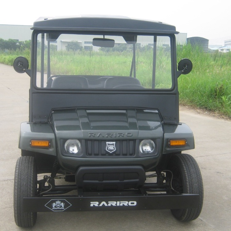 High quality comfortable battery powered tourist car chinese utility vehicle