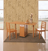 3D Vinyl moisture-proof wooden wall panel commercial wallcoverings