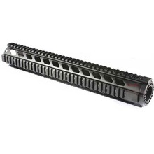 "AR15 Quad Rail Handguard Free Float 15"" with Barrel Nut for AR 15 AR15 M4 M16 .223 5.56"