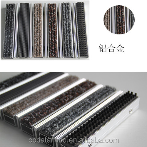 floor pollution system design dust clean aluminum entrance matting for office doors