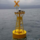 PE/FGRP marine light buoy with redar reflector and GPS