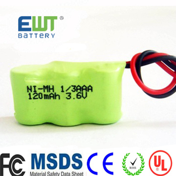 Hot Nimh 13 Aaa 36v 120mah Replacement Rechargeable Battery Pack