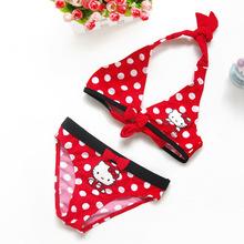 Holčičí jednodílné plavky Hello Kitty z Aliexpress