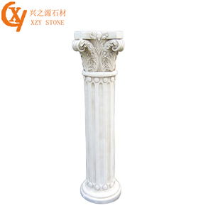 Luxury Marble Roman Column Decorative House Pillars Designs