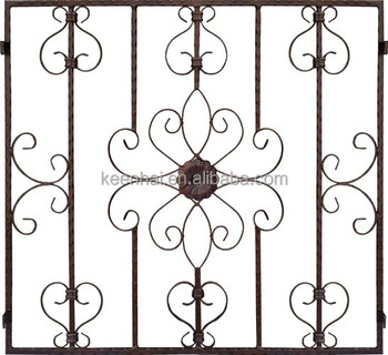 Keenhai OEM Custom Decorative Fabrication Modern French House Window Grill Design Image