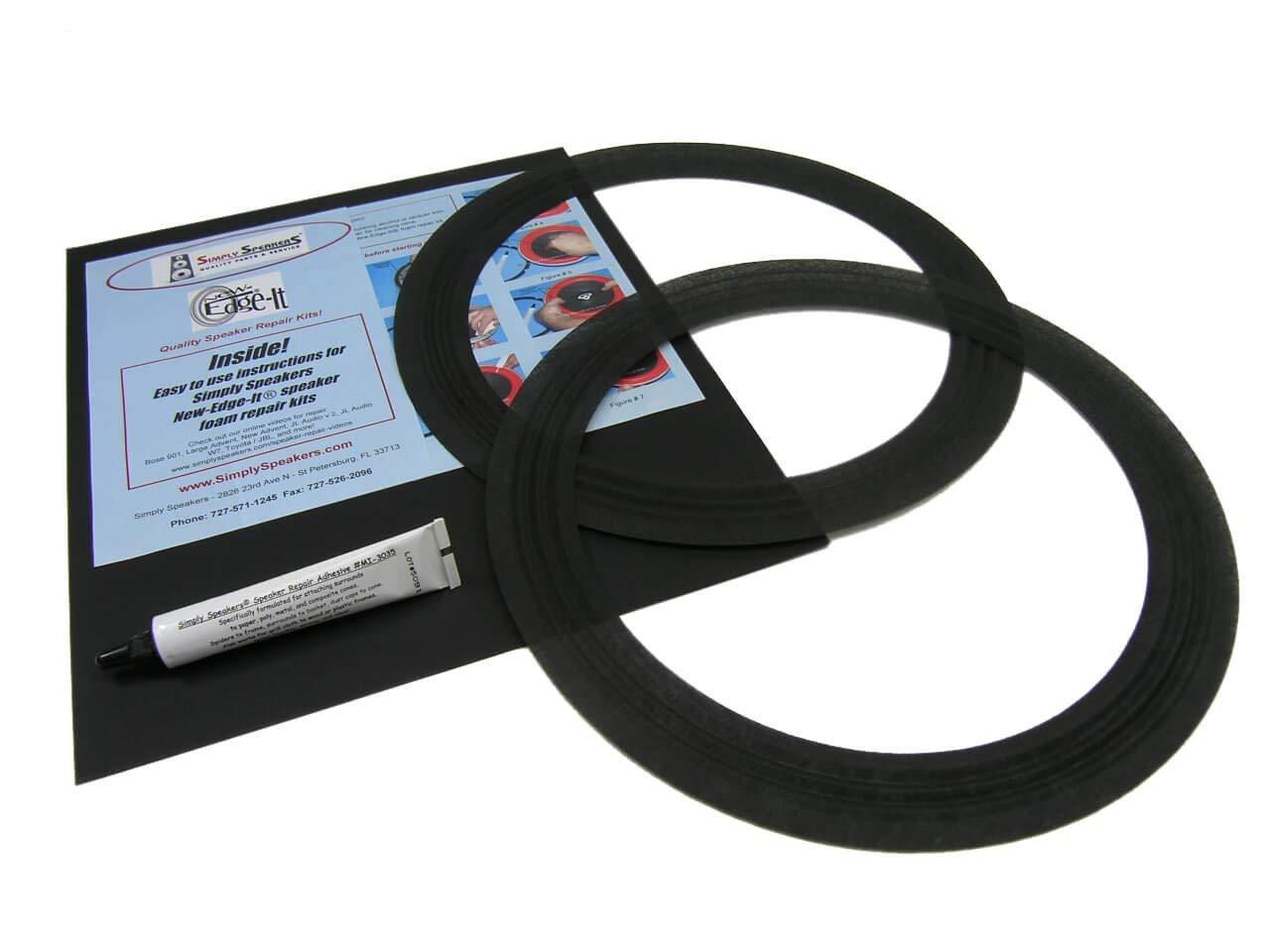 Pair EV 12 Inch Foam Speaker Repair Kit FSK-12A