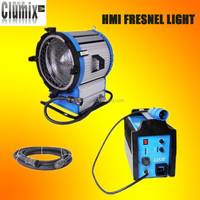 dimmable 4000W as arri HMI fresnel light +4kw EB for studio/video/film