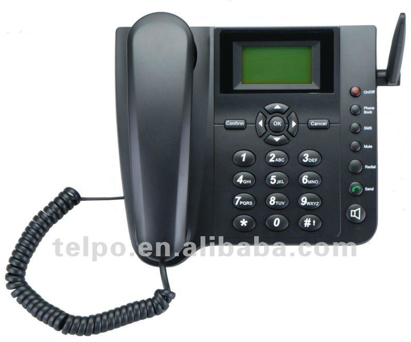 *Telpo Low cost GSM fixed wireless phone / cordless gsm fixed wireless phone