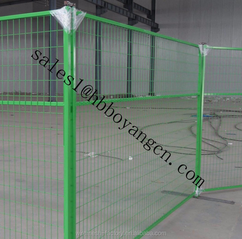 Manufacturers processing custom high quality temporary fencing for sale