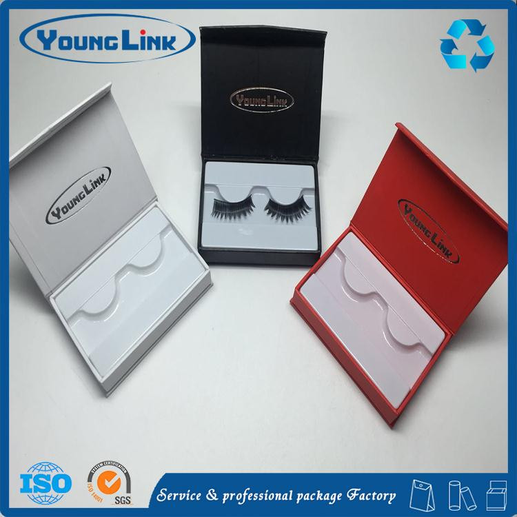 2017 new fashion Good quality eyelash paper packaging box small paper box