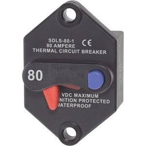 "Blue Sea Systems - Blue Sea Klixon Circuit Breaker Panel Mount 80 Amp ""Product Category: Electrical/Circuit Breakers"""