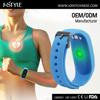 Multifunctional wristband watch digital continuous heart rate pedometer with alarm clock