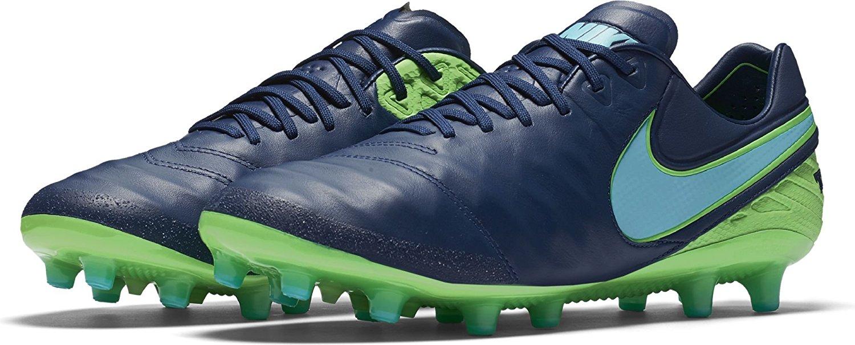Get Quotations · Nike Men s Tiempo Legend VI (AG-Pro) Soccer Cleat (Coastal  Blue) f16ab413f38