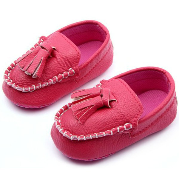 2326361c80b 2019 Baby Toddler Girls Boys Loafers Soft Faux Leather Flat Slip On ...