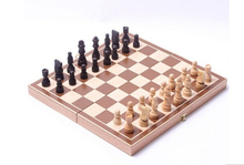 Classic Wooden International Chess Set Board Game Foldable